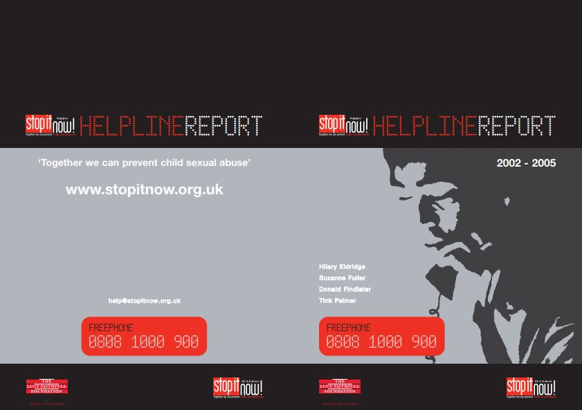 helpline card cover
